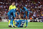 Supercopa de Espa&ntilde;a - Ida.<br /> FC Barcelona vs R. Madrid: 1-3.<br /> Sergio Ramos, Ricardo de Burgos, Kovacic &amp; Varane.