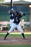 AZL White Sox Samil Polanco (13) at bat during an Arizona League game against the AZL Royals at Camelback Ranch on June 19, 2019 in Glendale, Arizona. AZL White Sox defeated AZL Royals 4-2. (Zachary Lucy/Four Seam Images)