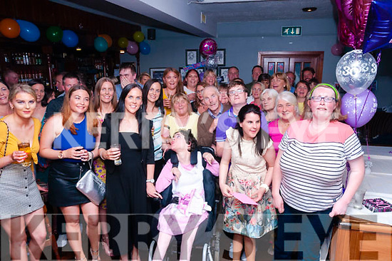 30th Birthday: Vanessa Meehan, second from right front, Ballyduff celebrating her 30th birthday with family & friends at Lowe's Bar, Ballyduff on Saturday night last.