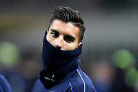 Lorenzo Pellegrini of Italy during the warm up ahead the Nations League League A group 3 football match between Italy and Portugal at stadio Giuseppe Meazza, Milano, November, 17, 2018 <br /> Foto Andrea Staccioli / Insidefoto