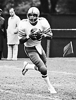 Chuck Ealey Winnipeg Blue Bombers quarterback 1974. Photo Scott Grant