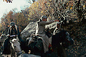 Iran 1979.Abdul Rahman Ghassemlou on his way to Mahabad