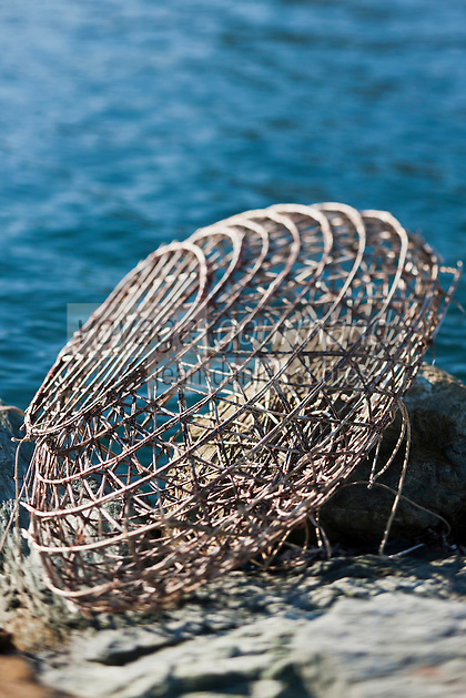 Europe/France/Corse/2B/Haute-Corse/Cap Corse/Macinaggio: Nasse traditionnelle pour pêcher les langoustes