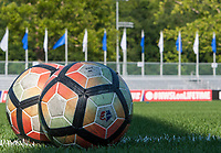 Kansas City, MO - Sunday July 02, 2017: Balls prior to a regular season National Women's Soccer League (NWSL) match between FC Kansas City and the Houston Dash at Children's Mercy Victory Field.