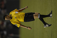 Referee Carlos Batres. The LA Galaxy of MLS defeated CF Pachuca of the Mexican First Division 2-1 during an opening round SuperLiga match at the Home Depot Center, Carson, CA, on July 24, 2007.