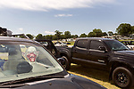 May 8, 2016. Concord, North Carolina. <br />  In the parking lot.<br />  The 2016 Carolina Rebellion was held over May 6-8 next to the Charlotte Motor Speedway and featured over 50 bands including headliners Lynyrd Skynyrd, The Scorpions, Five Finger Death Punch, Disturbed, and Rob Zombie.
