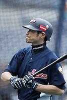 Ichiro Suzuki of Japan during World Baseball Championship at Petco Park in San Diego,California on March 20, 2006. Photo by Larry Goren/Four Seam Images