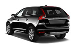 Car pictures of rear three quarter view of 2017 Volvo XC60 Inscription 5 Door SUV Angular Rear