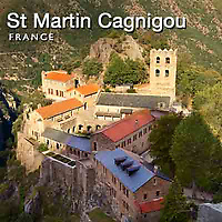Photos of Saint Martin Cagnigou Abbey. France