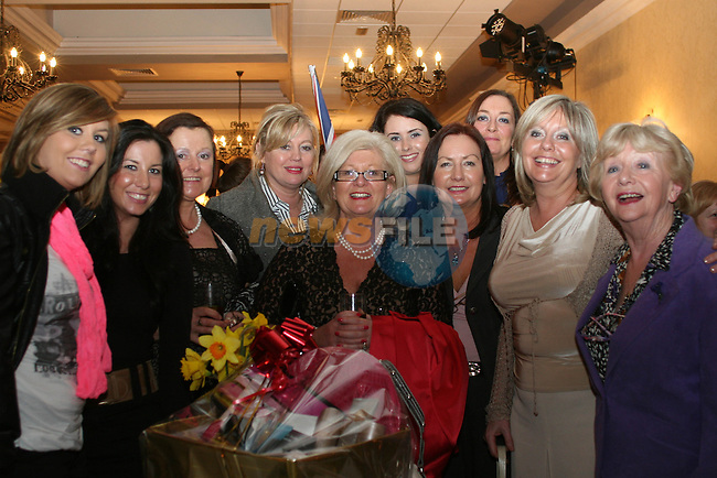 Three generations of the O'Reilly Family with Boots Staff at the Daffodil Day Fashion Show in the Westcourt Hotel...Photo NEWSFILE/Jenny Matthews.(Photo credit should read Jenny Matthews/NEWSFILE)....This Picture has been sent you under the condtions enclosed by:.Newsfile Ltd..The Studio,.Millmount Abbey,.Drogheda,.Co Meath..Ireland..Tel: +353(0)41-9871240.Fax: +353(0)41-9871260.GSM: +353(0)86-2500958.email: pictures@newsfile.ie.www.newsfile.ie.FTP: 193.120.102.198.