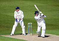 PICTURE BY VAUGHN RIDLEY/SWPIX.COM - Cricket - County Championship Div 2 - Yorkshire v Kent, Day 1 - Headingley, Leeds, England - 05/04/12 - Yorkshire's Jonny Bairstow looks on as Kent's Robert Key hits out.