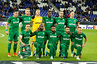 7th November 2019; RCDE Stadium, Barcelona, Catalonia, Spain; UEFA Europa League Football, Real Club Deportiu Espanyol de Barcelona versus PFC Ludogorets Razgrad; Ludogorets line up - Editorial Use