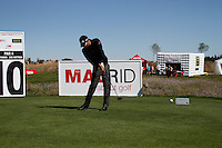 John Parry (ENG) tees off on the 10th tee during Sunday's Final Round of the Bankia Madrid Masters at El Encin Golf Hotel, Madrid, Spain, 9th October 2011 (Photo Eoin Clarke/www.golffile.ie)