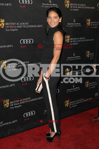 BEVERLY HILLS, CA - JANUARY 12: Olivia Munn at the BAFTA Los Angeles Awards Season Tea Party at Four Seasons Hotel Los Angeles at Beverly Hills on January 12, 2013 in Beverly Hills, California. Credit: mpi21/MediaPunch Inc. /NortePhoto /NortePhoto /NortePhoto /NortePhoto