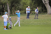 Andrea Pavan (ITA) on the 7th during the second round of the Mutuactivos Open de Espana, Club de Campo Villa de Madrid, Madrid, Madrid, Spain. 04/10/2019.<br /> Picture Hugo Alcalde / Golffile.ie<br /> <br /> All photo usage must carry mandatory copyright credit (© Golffile | Hugo Alcalde)
