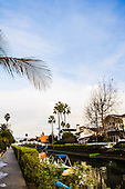 Stock photo panorama of Venice Beach California