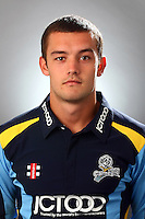 PICTURE BY VAUGHN RIDLEY/SWPIX.COM - Cricket - County Championship Div 2 - Yorkshire County Cricket Club 2012 Media Day - Headingley, Leeds, England - 29/03/12 - Yorkshire's Alex Lilley.