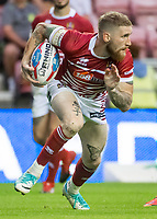Picture by Allan McKenzie/SWpix.com - 13/07/2017 - Rugby League - Betfred Super League - Wigan Warriors v Warrington Wolves - DW Stadium, Wigan, England - WIgan's Sam Tomkins.