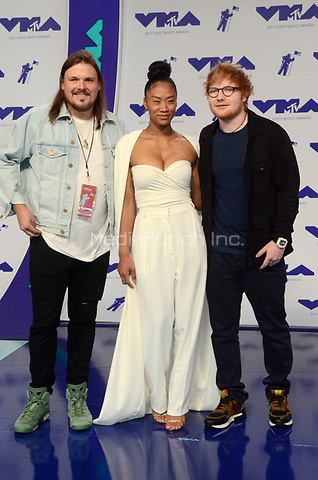 INGLEWOOD, CA - AUGUST 27: Ed Sheeran at the 2017 MTV Video Music Awards At The Forum in Inglewood, California on August 27, 2017. Credit: David Edwards/MediaPunch