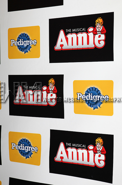 The Broadway Opening Night Performance of 'Annie' at the Palace Theatre in New York City on 11/08/2012