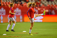 Vancouver, Canada - Thursday November 09, 2017: Lindsey Horan during an International friendly match between the Women's National teams of the United States (USA) and Canada (CAN) at BC Place.