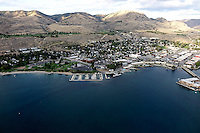 The City of Chelan sits at the foot of 55 mile long Lake Chelan on the foothills of Eastern Washington.