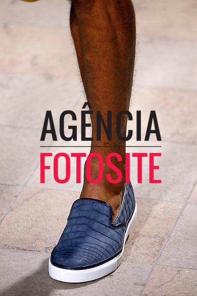 Paris, Franca &ndash; 06/2014 - Desfile de Hermes durante a Semana de moda masculina de Paris - Verao 2015. <br /> Foto: FOTOSITE