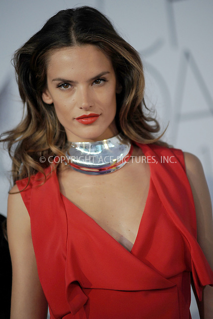 WWW.ACEPIXS.COM . . . . . .June 6, 2011...New York City.....Alessandra Ambrosio attends the 2011 CFDA Fashion Awards at Alice Tully Hall, Lincoln Center on June 6, 2011 in New York City......Please byline: KRISTIN CALLAHAN - ACEPIXS.COM.. . . . . . ..Ace Pictures, Inc: ..tel: (212) 243 8787 or (646) 769 0430..e-mail: info@acepixs.com..web: http://www.acepixs.com .