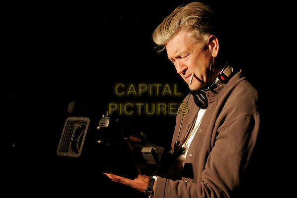 DAVID LYNCH (DIRECTOR).on the set of Inland Empire.*Editorial Use Only*.Ref: PLF.www.capitalpictures.com.sales@capitalpictures.com.Supplied by Capital Pictures.