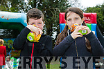 Enjoying the Glenduff Manor Easter Egg Hunt on Sunday were Brogan Hurley and Brianna Hurley