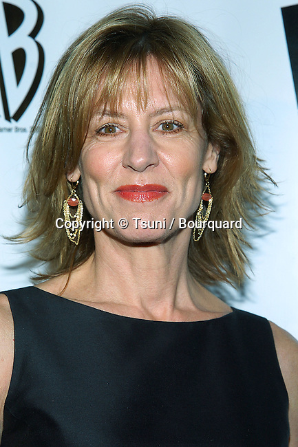 Christine Lahti arriving at the WB - tca Winter Party on the Warner Lot,  in Los Angeles. January 22, 2005.