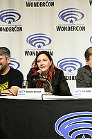 Shawna Benson at Wondercon in Anaheim Ca. March 31, 2019