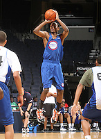 Sam Thompson at the NBPA Top100 camp June 18, 2010 at the John Paul Jones Arena in Charlottesville, VA. Visit www.nbpatop100.blogspot.com for more photos. (Photo © Andrew Shurtleff)