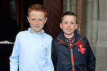 10/05/2015 – Saint Marys Communion – Odhran Rowley and Keith Floyd. Picture: www.newsfile.ie