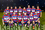 Castleisland rugby team pictured on their pitch before taking on Crosshaven of Cork last Saturday evening in the Div 2 Munster Junior League.