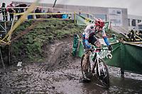 Michael Boros (CZE/Creafin-TUV)<br /> <br /> Superprestige cyclocross Hoogstraten 2019 (BEL)<br /> Elite Men's Race<br /> <br /> &copy;kramon