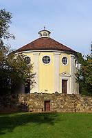Synagoge in Parkanlage W&ouml;rlitzer Garten, Sachsen-Anhalt, Deutschland, Europa, UNESCO-Weltkulturerbe<br /> Synagoue, W&ouml;rlitz Gardens, Saxony-Anhalt, Germany, Europe, UNESCO-World Heritage