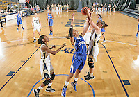 Florida International University guard Carmen Miloglav (24) plays against Lynn University.  FIU won the game 68-30 on November 30, 2011 at Miami, Florida. .