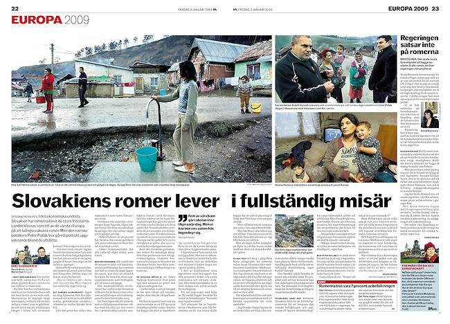 Dagens Nyheter, Swedish daily,    <br />