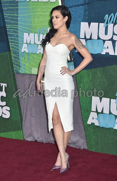 10 June 2015 - Nashville, Tennessee - Rumer Willis. 2015 CMT Music Awards held at Bridgestone Arena. Photo Credit: Laura Farr/AdMedia