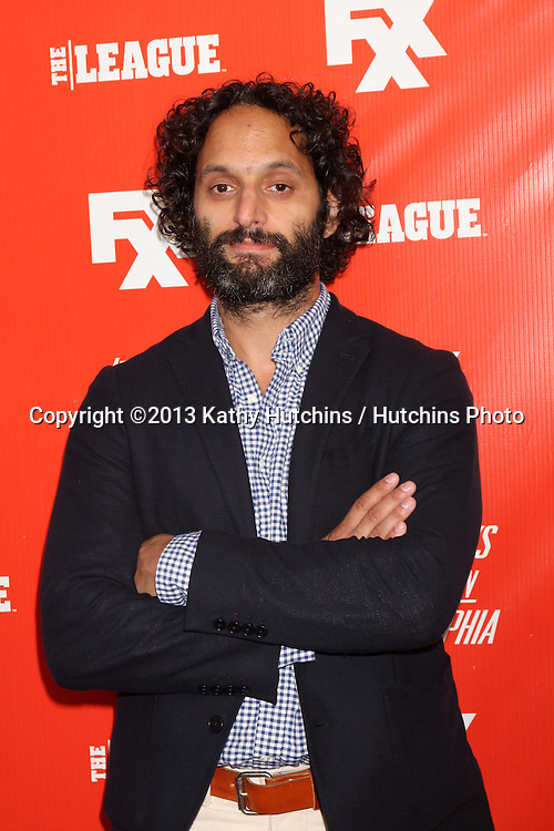 """LOS ANGELES - SEP 3:  Jason Mantzoukas at the FXX Network Launch Party And Premieres For """"It's Always Sunny In Philadelphia"""" And """"The League"""" at the Lure on September 3, 2013 in Los Angeles, CA"""