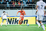 Jeju United Forward Ahn Hyunbeom (C) in action during the AFC Champions League 2017 Group Stage - Group H match between Jeju United FC (KOR) vs Adelaide United (AUS) at the Jeju World Cup Stadium on 11 April 2017 in Jeju, South Korea. Photo by Marcio Rodrigo Machado / Power Sport Images
