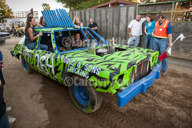 74th Amador County Fair, Plymouth, Calif...Destruction Derby best looking car