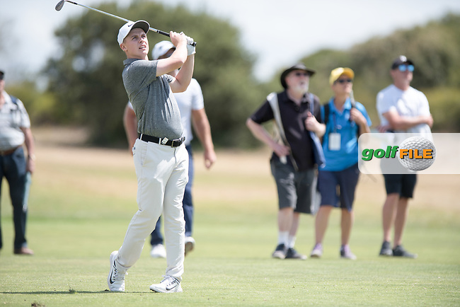 Conor Purcell (IRL) during the 2nd round of the VIC Open, 13th Beech, Barwon Heads, Victoria, Australia. 08/02/2019.<br /> Picture Anthony Powter / Golffile.ie<br /> <br /> All photo usage must carry mandatory copyright credit (&copy; Golffile | Anthony Powter)