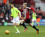 Mark Duffy of Sheffield Utd during the English League One match at Bramall Lane Stadium, Sheffield. Picture date: December 31st, 2016. Pic Simon Bellis/Sportimage