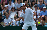 England, London, 27.06.2014. Tennis, Wimbledon, AELTC, Jimmy Wang (TPE)<br /> Photo: Tennisimages/Henk Koster
