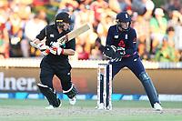 New Zealand's Tom Latham batting. New Zealand Blackcaps v England. One Day International Cricket. Seddon Park, Hamilton, New Zealand on Sunday 25 February 2018.<br /> <br /> Copyright photo: &copy; Bruce Lim / www.photosport.nz