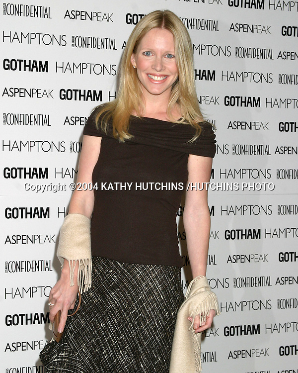 "©2004 KATHY HUTCHINS /HUTCHINS PHOTO.""HOLLYWOOD BAG LADIES LUPUS LUNCHEON.BEVERLY HILLS, CA  .NOVEMBER 10, 2004..LAURALEE BELL"