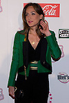 """Photocall at Theatre Artery Coliseum """"Grease, the musical"""" to present to Julio Iglesias Junior as new lead singer of the function. In the picture: Tamara Falco (Alterphotos/Marta Gonzalez)"""