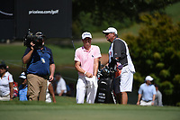 Justin Thomas (USA) during the second round of The Tour Championship, East Lake Golf Club, Atlanta, Georgia, USA. 22/08/2019.<br /> Picture Ken Murray / Golffile.ie<br /> <br /> All photo usage must carry mandatory copyright credit (© Golffile | Ken Murray)